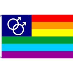 Duhová vlajka gay