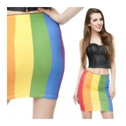 Duhová sukně